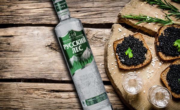 Водка Русский лес PREMIUM