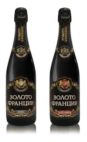 """Новое """"Золото Франции"""" - превосходное шампанское от ГК """"Даймонд"""""""