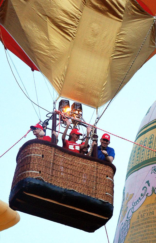 Flying in a balloon GC Diamond