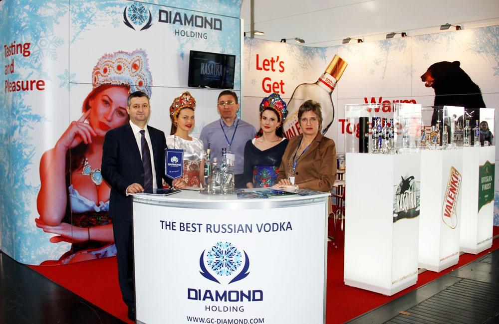 ProWein 2015. Новые победы и достижения алкогольных брендов холдинга «Даймонд»