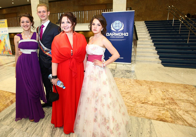Выпускники 2015 в Кремле. Спонсор Холдинг Даймонд