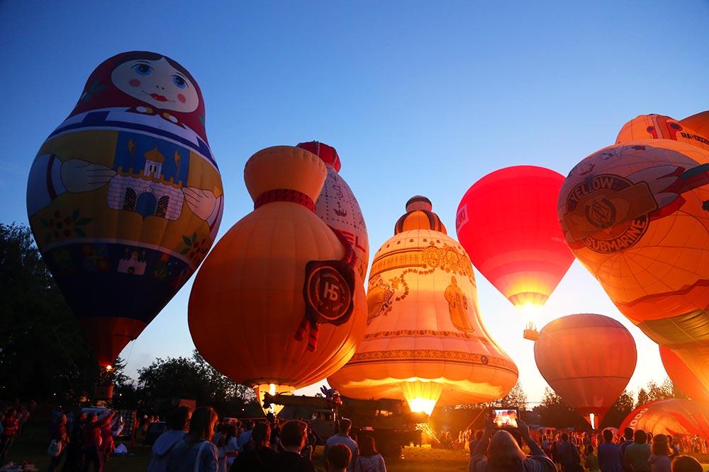 Balloon festival 2014 - Heaven of St. Sergius