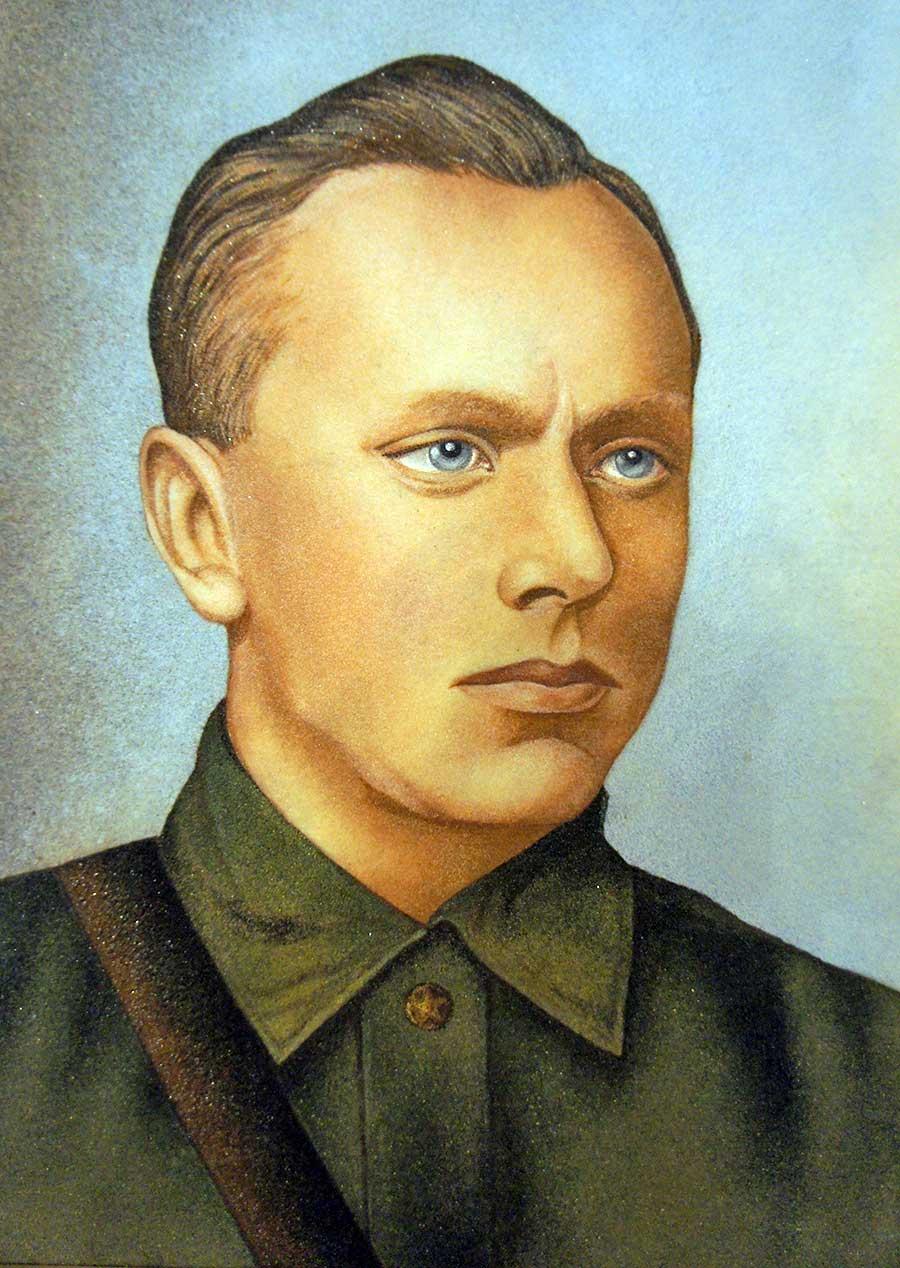 Алексей Николаевич Ботян - ветеран ВОВ
