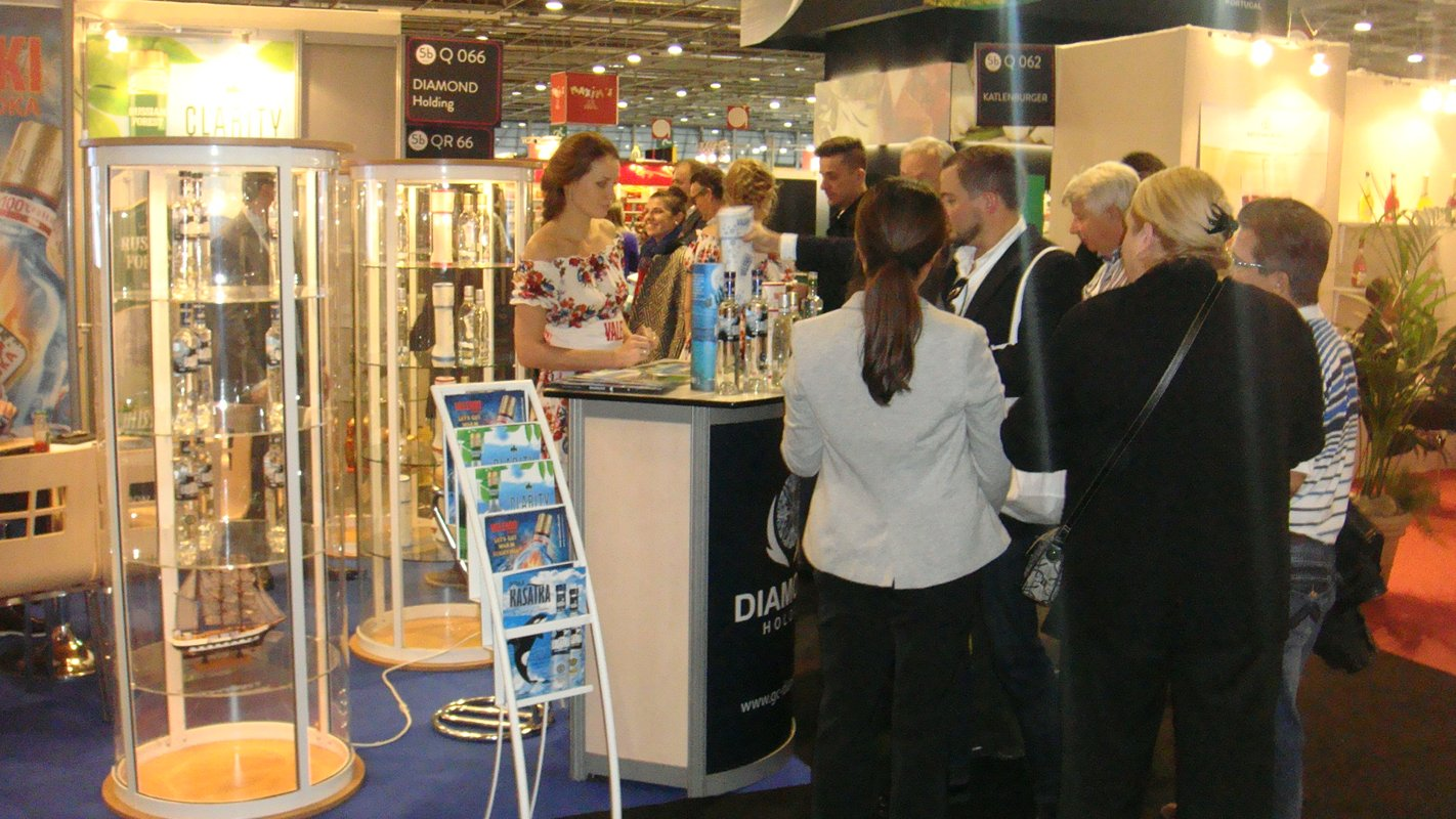 Diamond Holding at the international exhibition of food industry SIAL Paris