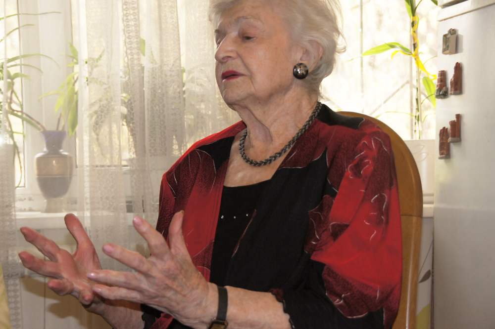 в гостях у Беллы Ароновны Эренгросс – известной ученой, преподавателя, основоположника курса культурологии в Советском Союзе