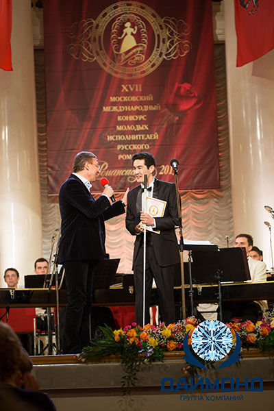 "Bakyt Jakypov, Bishkek (Kyrgyzstan), was awarded with the People's Choice Award and an award from the holding ""Diamond"""