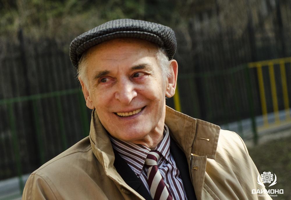 Василий Лановой, народный артист СССР в интервью для ГК Даймонд