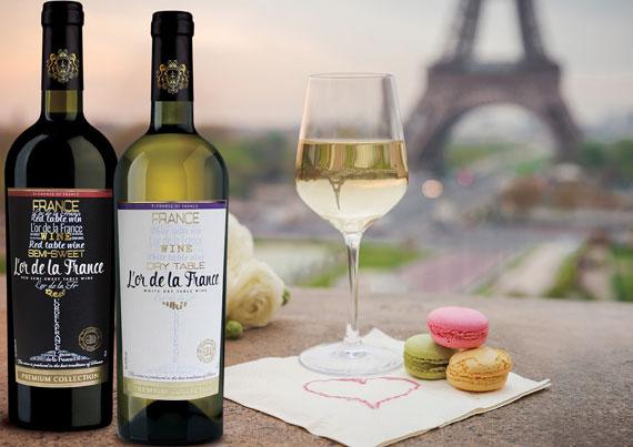 Вино «L'or de la France» - изысканный вкус Франции!