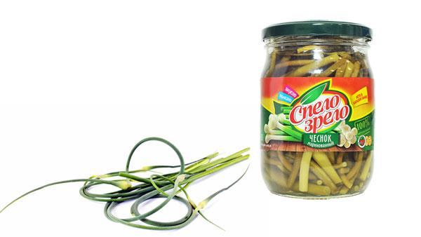 Tasty marinated scapes Spelo-Zrelo