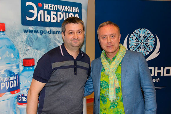 Andrey Mishurov and musician, composer, producer Daduda (Igor Kezlya)