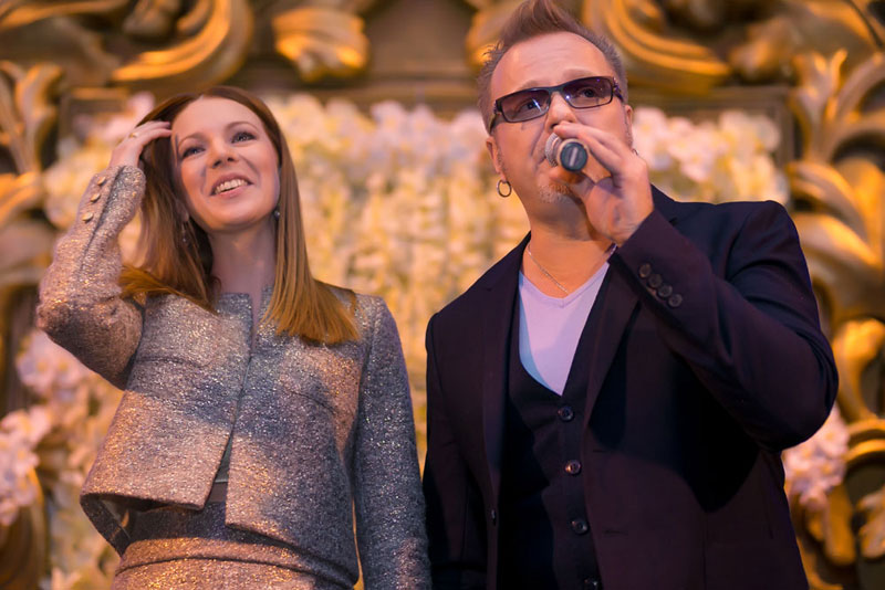 Звездная пара - Наталья Подольская и Владимир Пресняков – удостоены премии «Видео года»