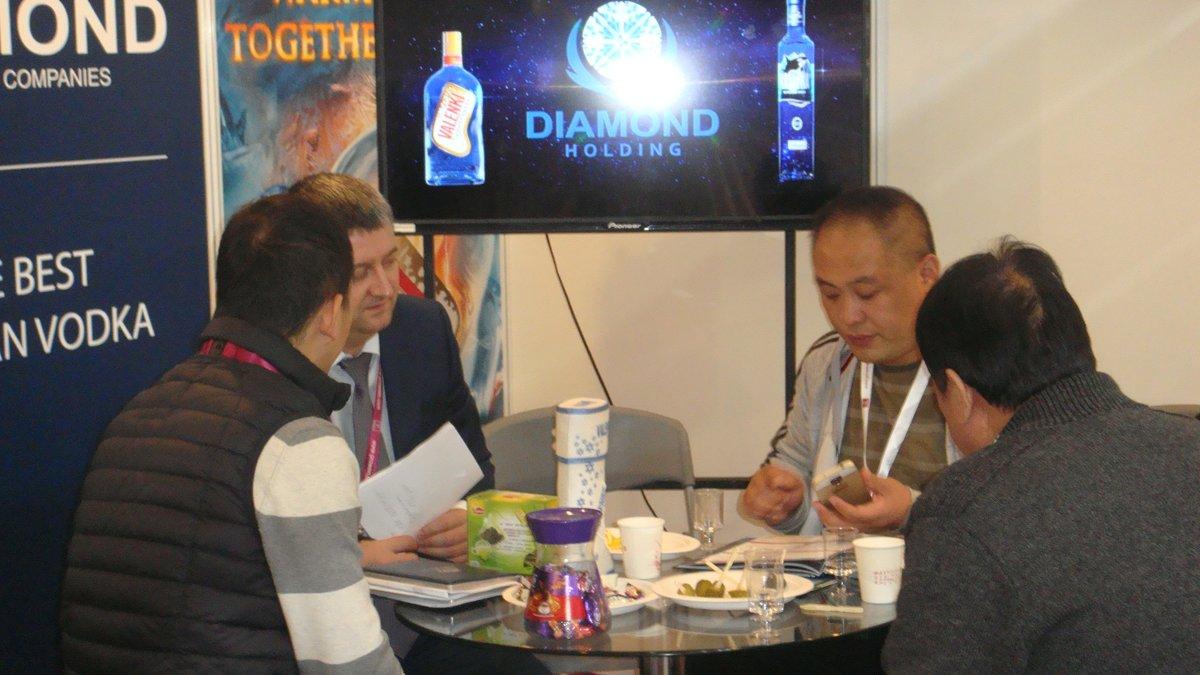 "Мишуров Андрей (Холдинг ""Даймонд"") на международной выставке PROWINE CHINA 2014"