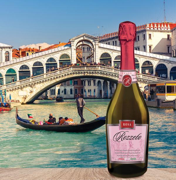 «ROZZETO» Rosa - игристый алкогольный напиток от Холдинга Даймонд