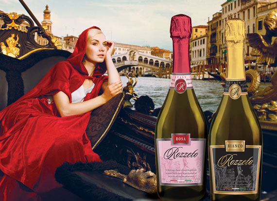Sparkling beverage «ROZZETO» - Bright emotions of your life!