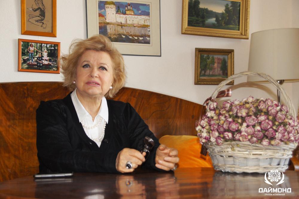Талызина Валентина - известная советская и российская актриса с ГК Даймонд