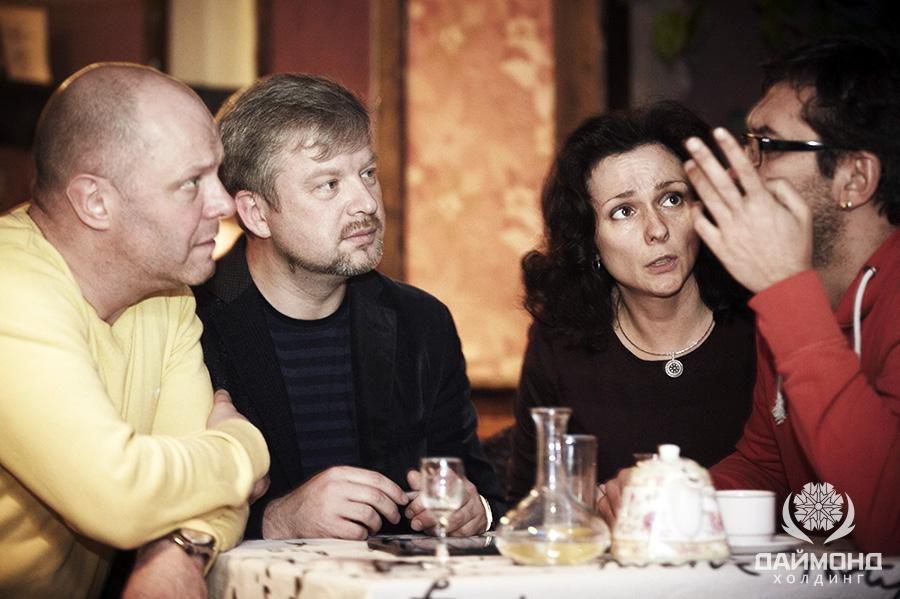 Валдис Пельш и Алексей Кортнев что-то задумали…