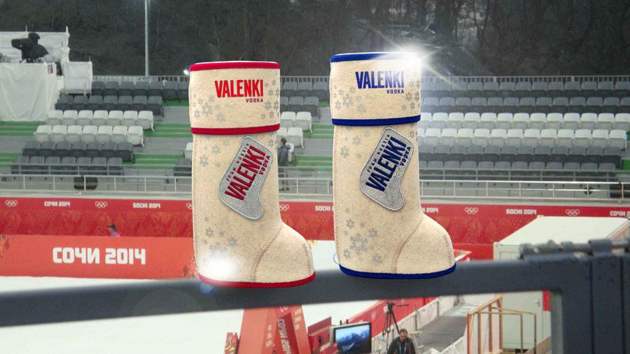 Бренд VALENKI на Олимпийских играх в Сочи