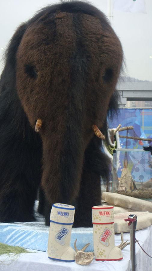 … И нечаянно натолкнулись на мамонта с водка VALENKI!