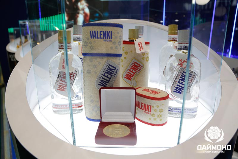 Vodka VALENKI - gold for high quality! The best vodka of the year 2014