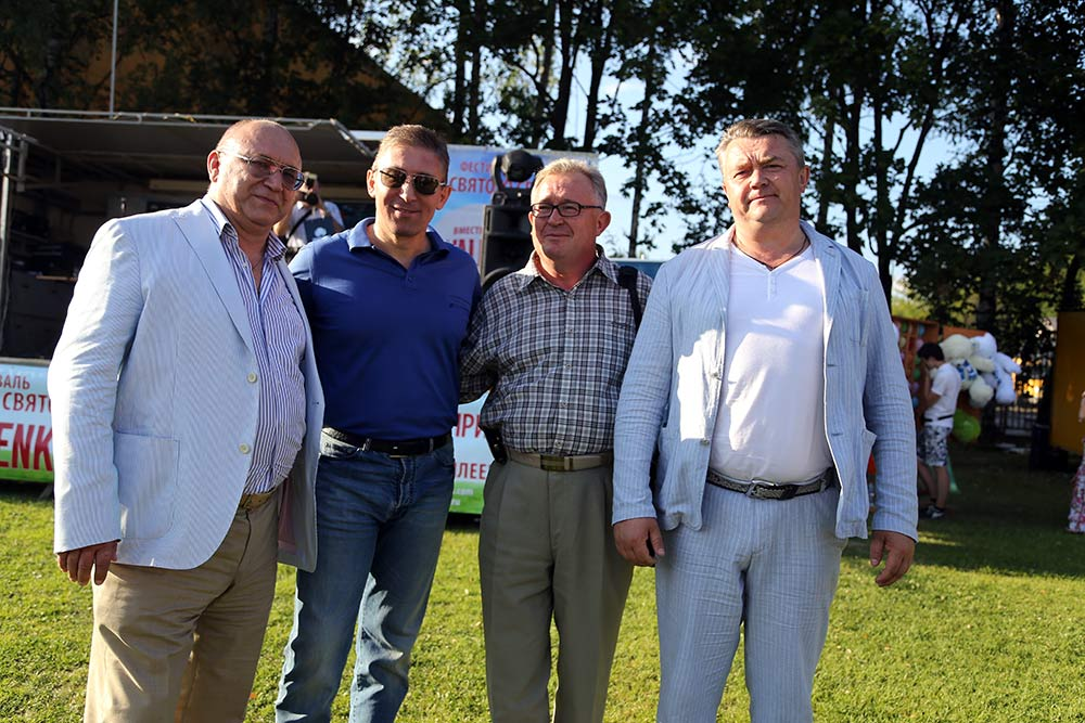 Shugarov Sergey, Balagov Zaur Izatovich, Tarasenko Nikolai Pavlovich, Alexander Stepanovich Trigubchak