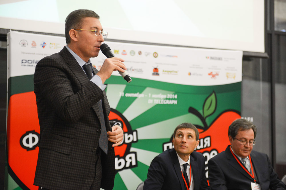 """Speech by Mr. Zaur Balagov, President of Diamond Holding at the ceremony of the national """"Healthy Nutrition Award"""" 31st October, 2014."""