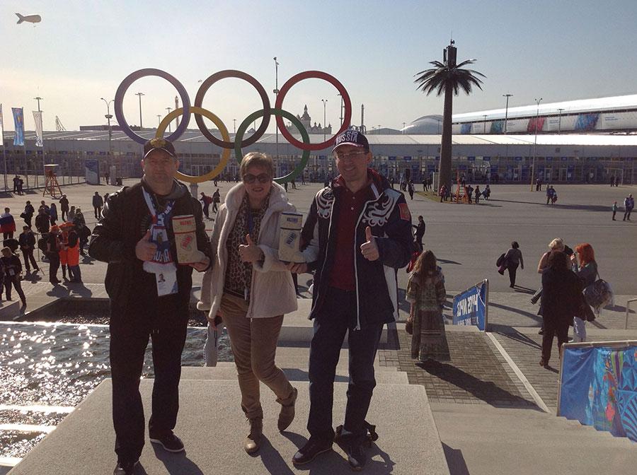 Мы и водка VALENKI в Олимпийском парке (Мишуров Андрей, Лычковская Ирина, Заур Балагов)