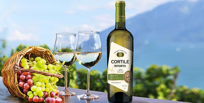 «CORTILE RITORTO» - итальянская коллекция в лучших традициях виноделия
