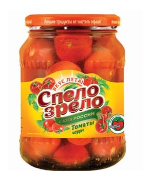 Томаты черри маринованные СПЕЛО-ЗРЕЛО - лучшие консервированные помидоры черри