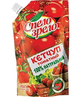Кетчуп Спело-Зрело томатный