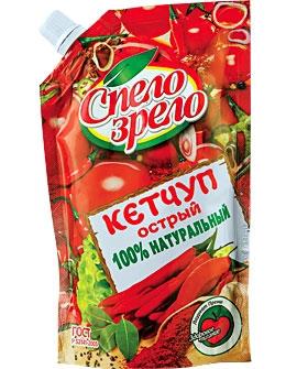 Кетчуп Острый Спело-Зрело