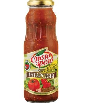 Соус томатный Татарский с маринованными огурчиками