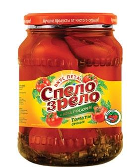 Томаты сочные маринованные СПЕЛО-ЗРЕЛО - лучшие консервированные помидоры