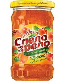Абрикос, протертый <br>с сахаром СПЕЛО-ЗРЕЛО
