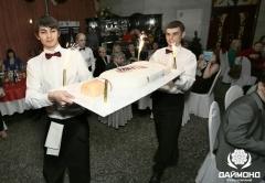 Праздничный торт VALENKI с феерверками