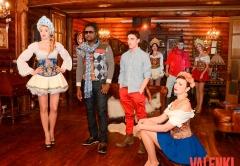 Инуса Давуда и русские красавицы на съемках проекта VALENKI от ГК Даймонд