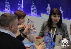 At the stand of Diamond Holding - Svetalana Paly, Natalia Oskina