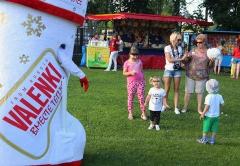 Doll VALENKI at the festival balloons Sky St. Sergius