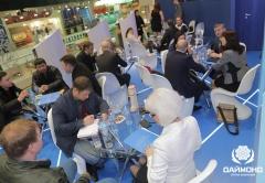 At the stand of Diamond Holding - Prodekspo 2014