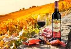 «Букет Кубани» - высококачественное вино с Юга России в изящной бутылке с солнечными виноградниками на этикетке, которые сразу же переносят в яркое, теплое и ароматное лето!