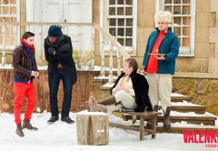 Булдаков Алексей на съемках короткометражного кино для бренда VALENKI