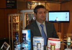 Andrey Mishurov, vice president of Diamond Holding - SIAL Paris