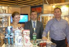 Zaur Balagov, president of Diamond Holding and Andrew Mishurov (Vice President) - SIAL Paris
