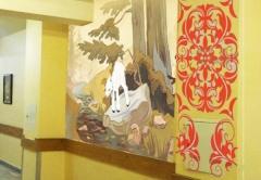 В рамках инициативы к детскому празднику Холдинг «Даймонд» распишет стены Тушинской детской городской клинической больницы им. З.А.Башляевой.