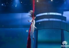 "Air gymnast on the award ""Graduate 2014"" in the Kremlin"