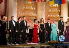 Участники Романсиады 2013 и Галина Преображенская