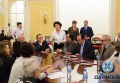Жюри Романсиады 2013 на встрече с ГК Даймонд