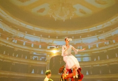 Ballet performed by Russian ballet troupe V.Gordeeva. Recognition. With the support of SC Diamond