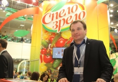 At the stand of the brand SPELO-ZRELO on Prodekspo 2014