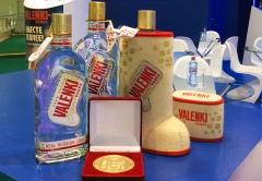 VALENKI vodka won a gold medal for quality at the Prodekspo 2014