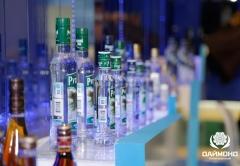 Vodka russian Forest from Diamond Holding on Prodekspo 2014